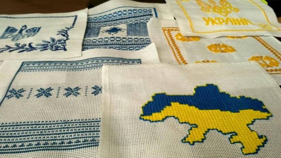 Волинські рукодільниці долучилися до створення вишитого Герба України. ВІДЕО