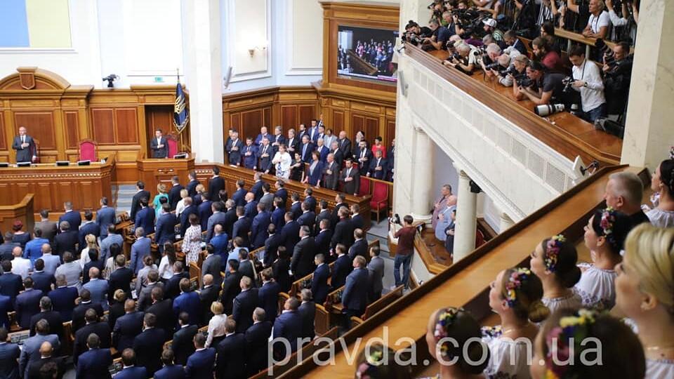 У парламенті створили 5 фракцій і депутатську групу. Куди потрапили волинські нардепи