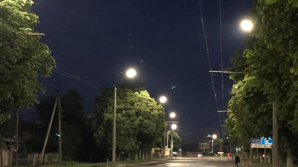 На Володимирській встановили LED-освітлення