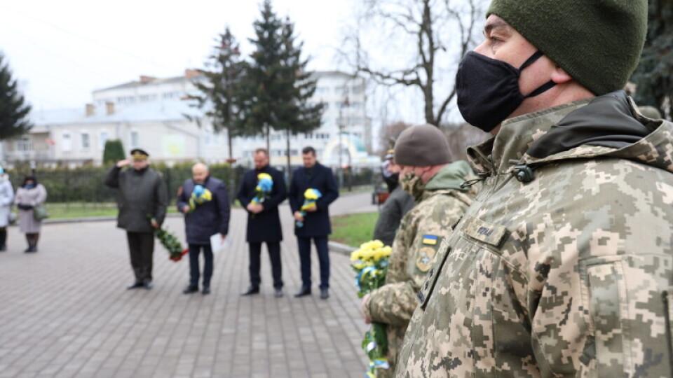 У Луцьку привітали військових із Днем Збройних Сил України. Фото