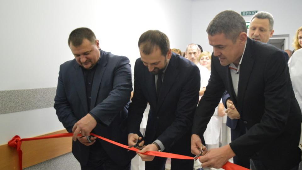 У Луцькій райлікарні відкрили відремонтоване відділення фізіотерапії. ФОТО