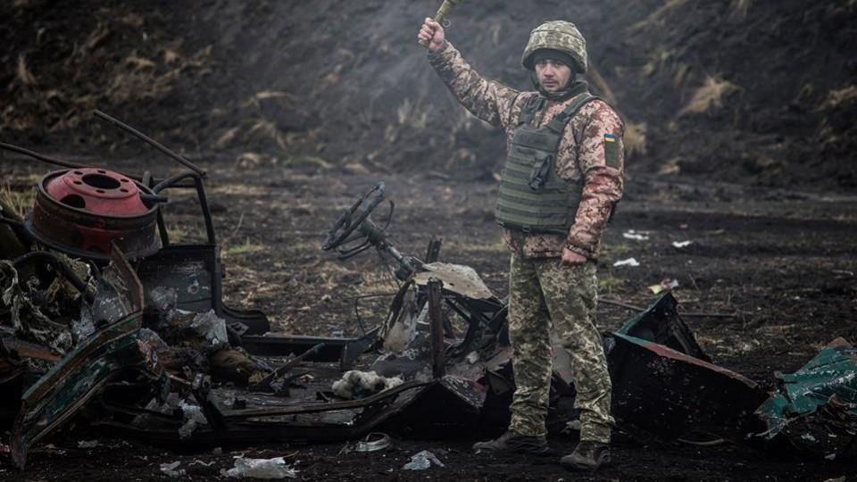 Військові знищили «Волинянку» разом із «сєпарами». ФОТО