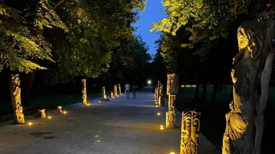 На алею скульптур Голованя, що в луцькому парку, виратили 800 тисяч гривень