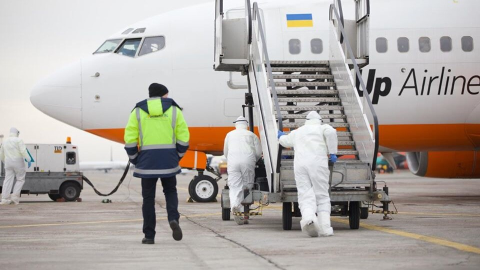 Зеленський повідомив, де розмістять евакуйованих з Китаю українців