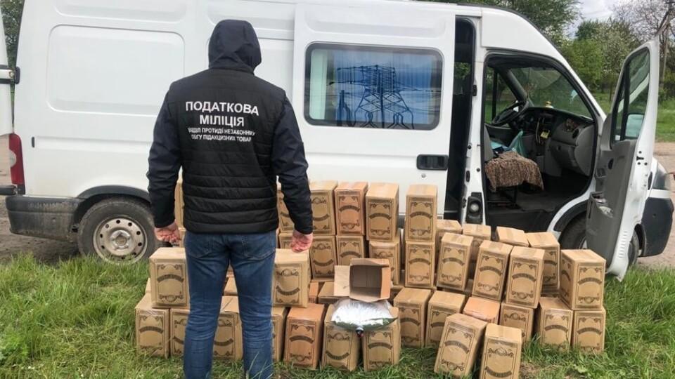 На Волині вилучили підроблену горілку на 350 тисяч гривень