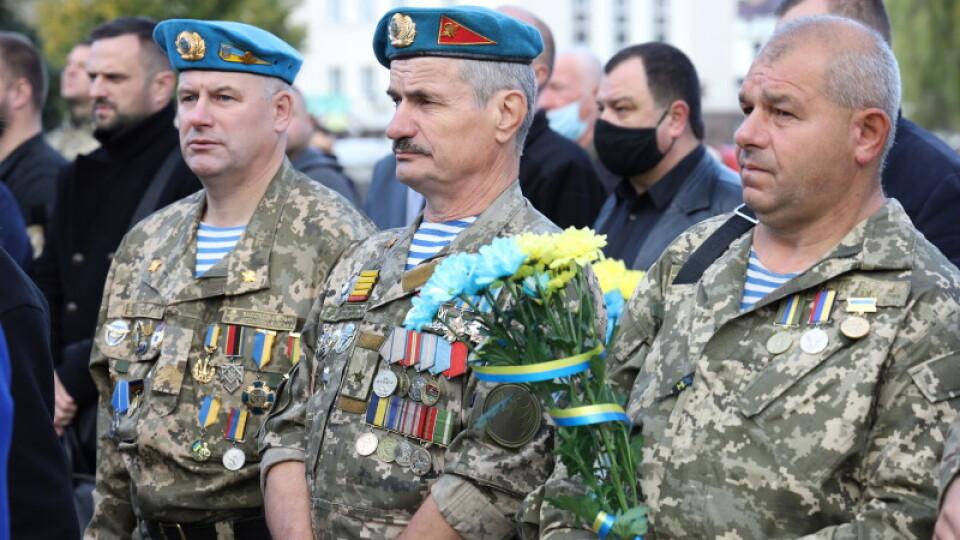 У Луцьку вшанували пам'ять полеглих Героїв в АТО/ООС. Фото