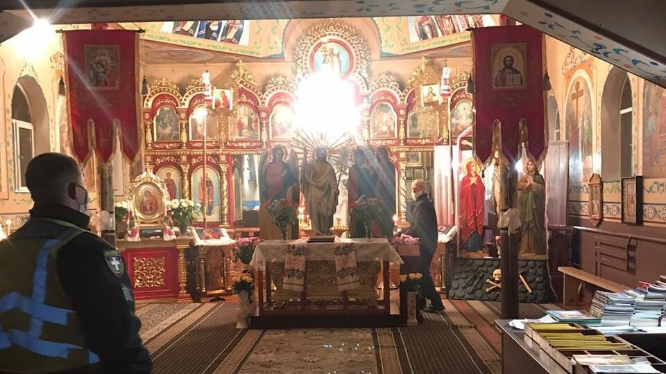 Підрахували, скільки волинян прийшло до храмів у великодню ніч