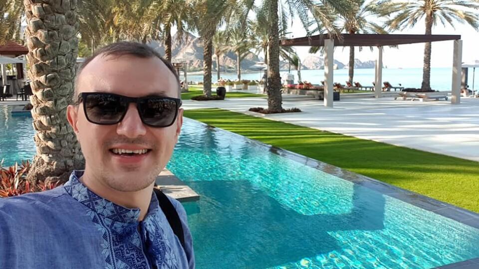«В Омані тепер «паломництво» до готелю, де жив Зеленський», - луцький мандрівник Богдан Климчук
