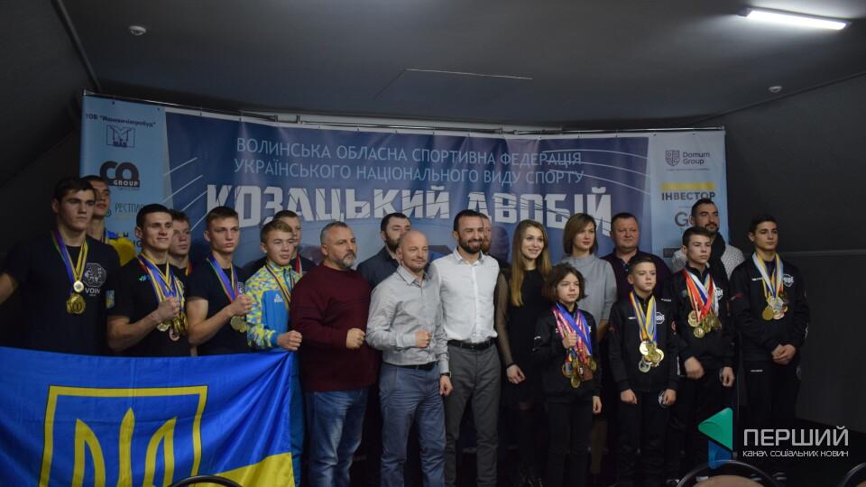 Волинські спортсмени привезли 15 золотих медалей з чемпіонату світу з козацького двобою