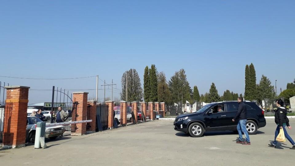 Недопад пояснив, чому перестали пускати машини на кладовище у Гаразджі