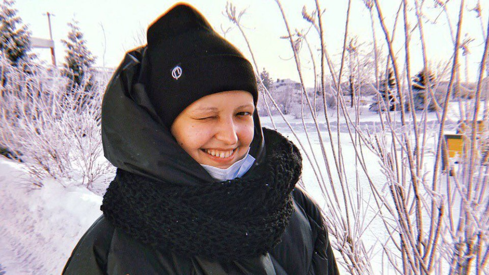 «Я рада, що можу когось надихати», - онкохвора  Мар'яна Пархом'юк з Луцька