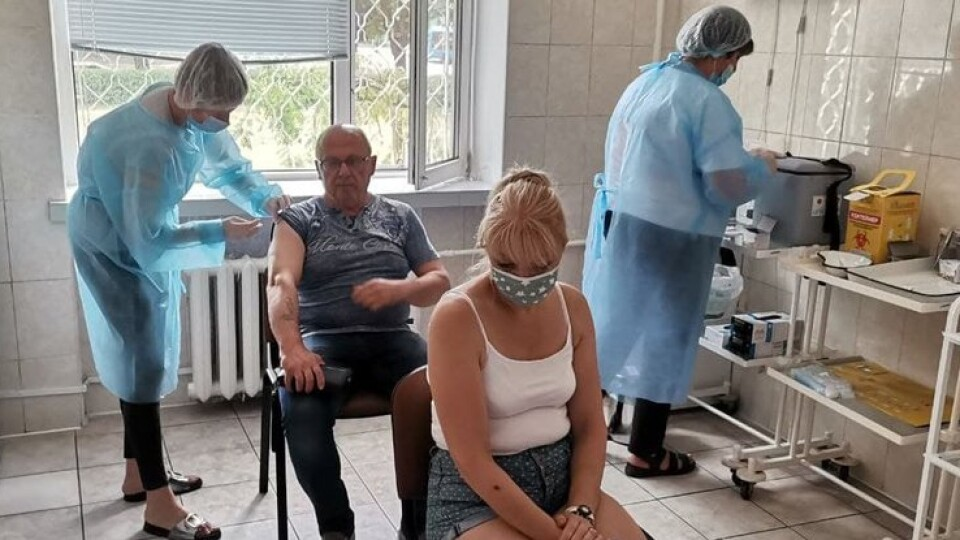 Волинян почали щеплювати від коронавірусу вакциною Moderna