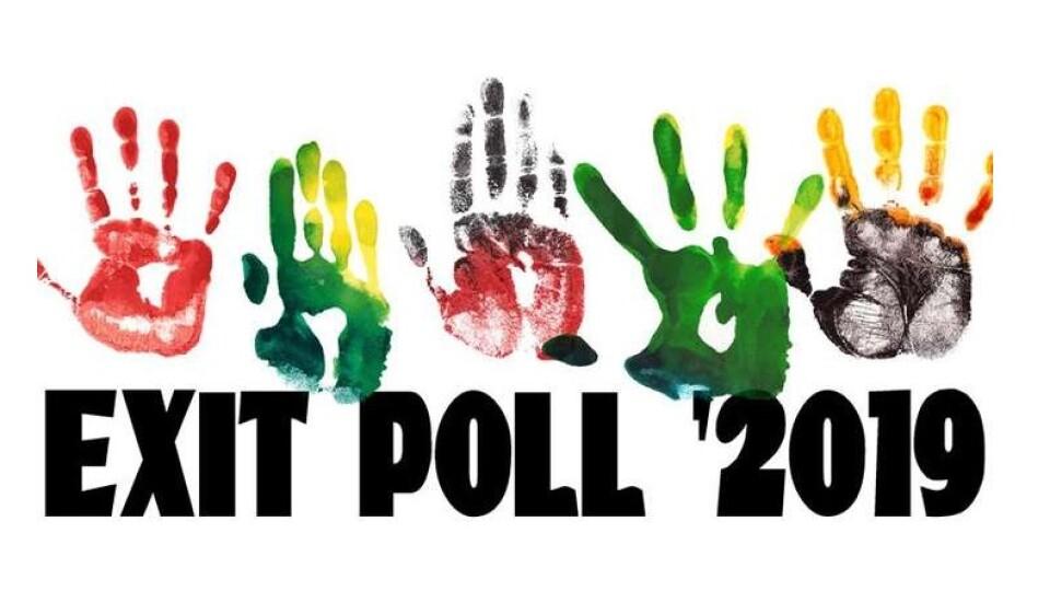 Результати екзитполів: до Ради проходить 5 партій