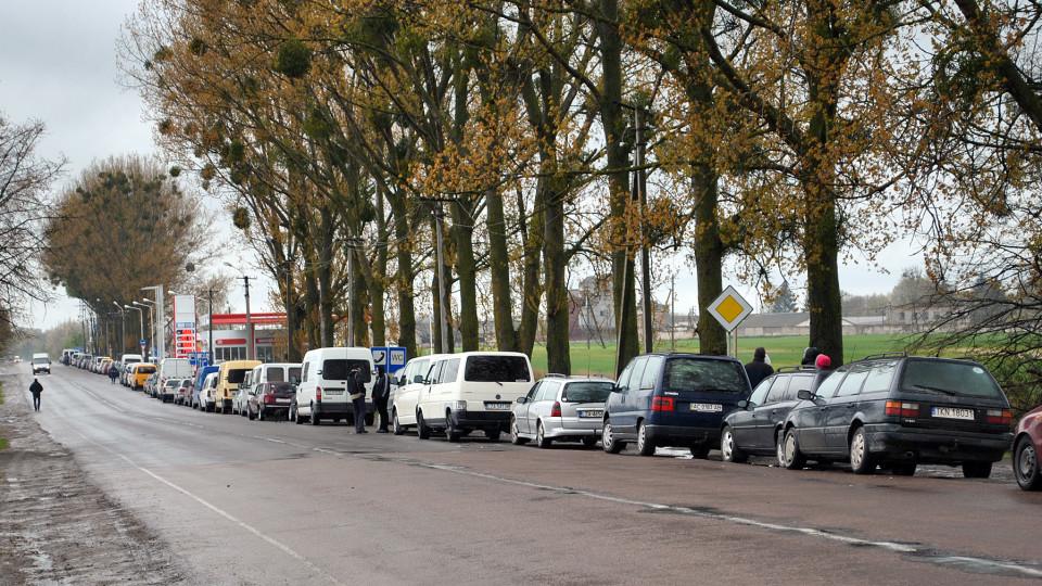 У чергах на  польському кордоні – 200 машин