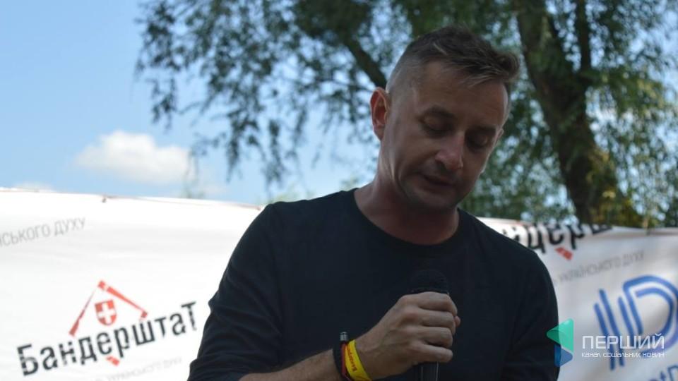 Сергій Жадан на «Бандерштаті»читав вірші з нової книги. ФОТО