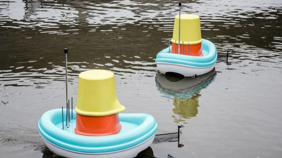 З дитячих іграшок розробили човни для збору сміття. ФОТО