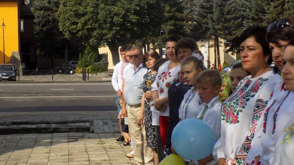 Як святкують День Незалежності у громаді поблизу Луцька. ФОТО