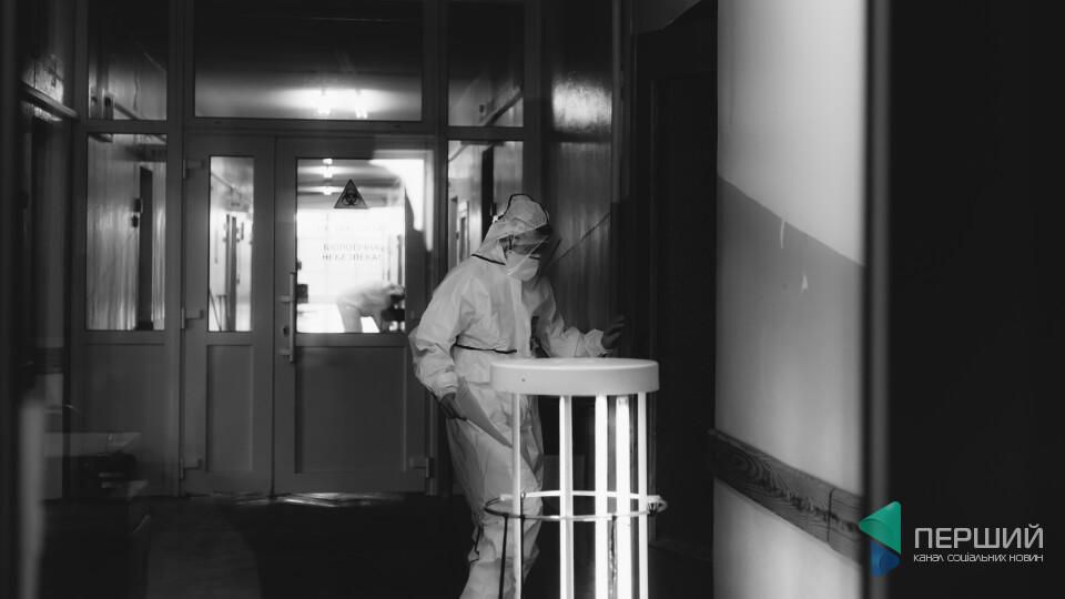 У «ковідному» шпиталі в Боголюбах перебуває 107 хворих. 90 –під киснем