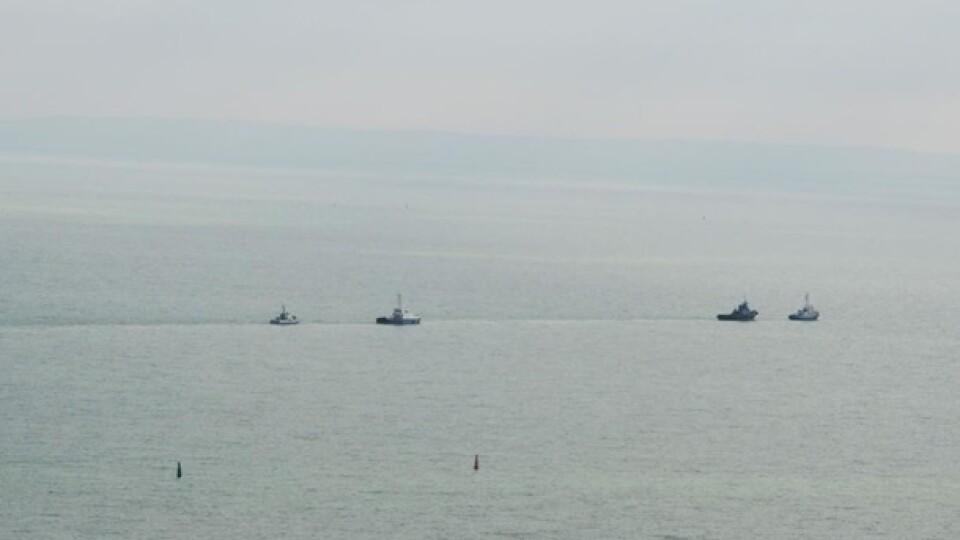 В Азовському морі Росія захопила судно з українцями