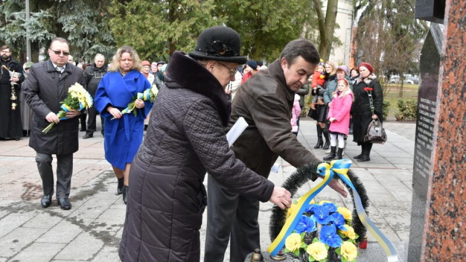 У Луцьку вшанували пам'ять загиблих холмщаків. ФОТО