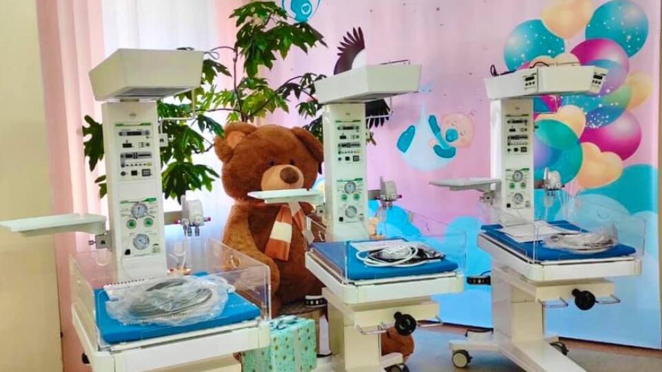Луцький пологовий придбав обладнання для реанімації новонароджених