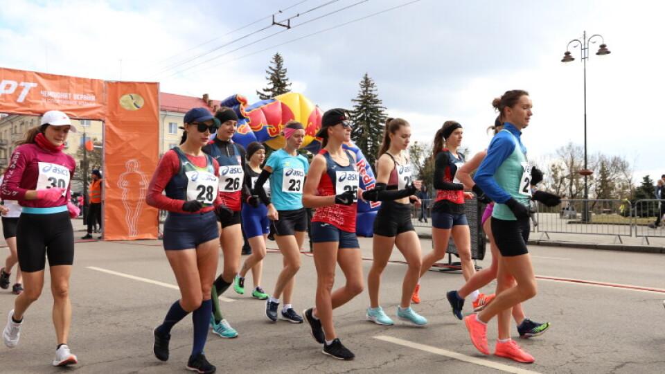 Волинські спортсменки встановили національні рекорди на чемпіонати зі спортивної ходьби