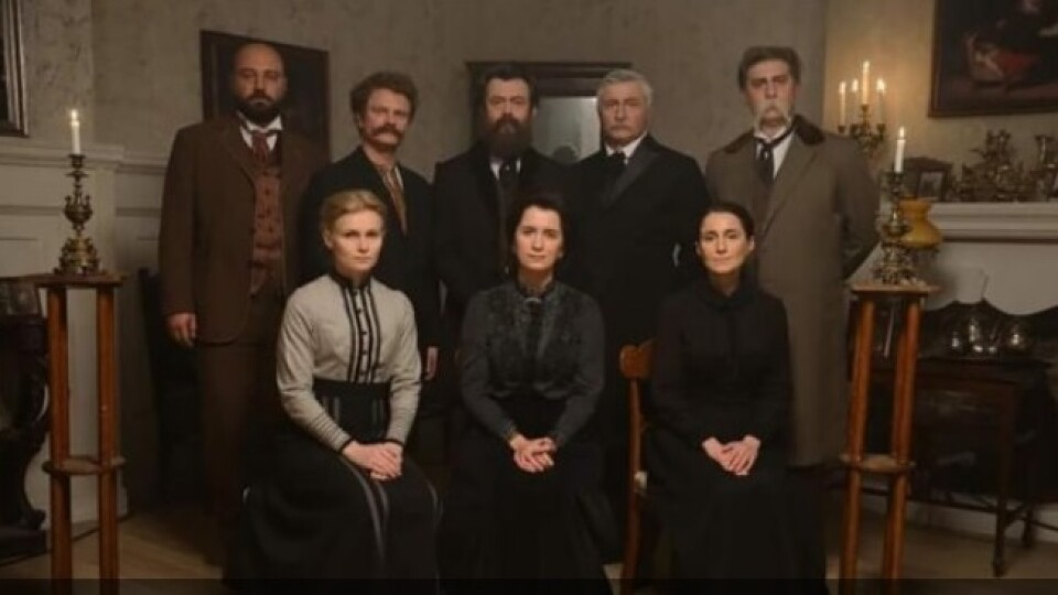 Знімають серіал про Лесю Українку та інших письменників. Вийшов офіційний тизер