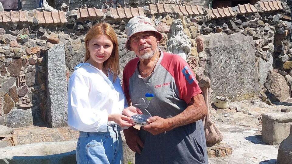Луцький скульптор Микола Головань отримав нагороду «Герої Сьогодні»