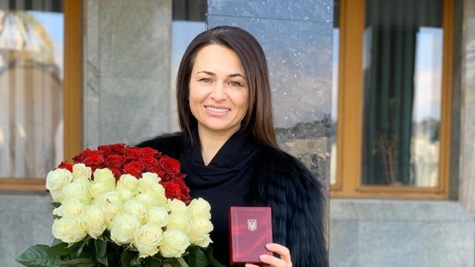 Дружині луцького бізнесмена присвоїли звання «Мати-героїня»