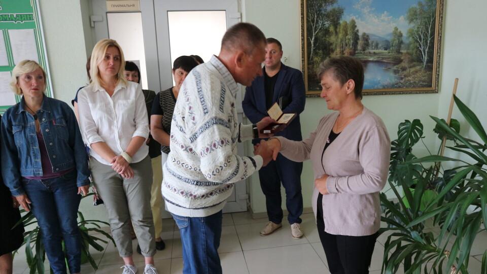 Матері Миколи Сорочука вручили посмертну нагороду сина