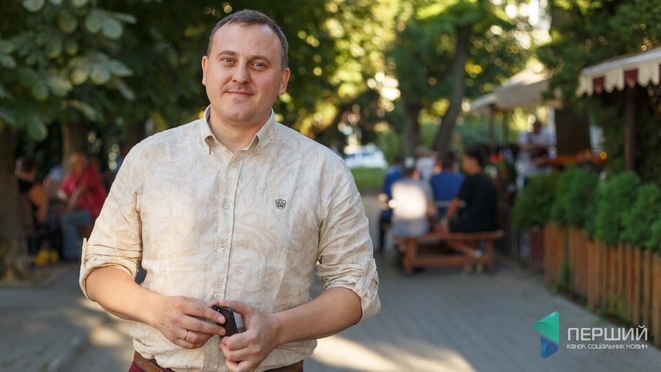 Екс-депутат міськради Андрій Осіпов презентує у Луцьку новий роман