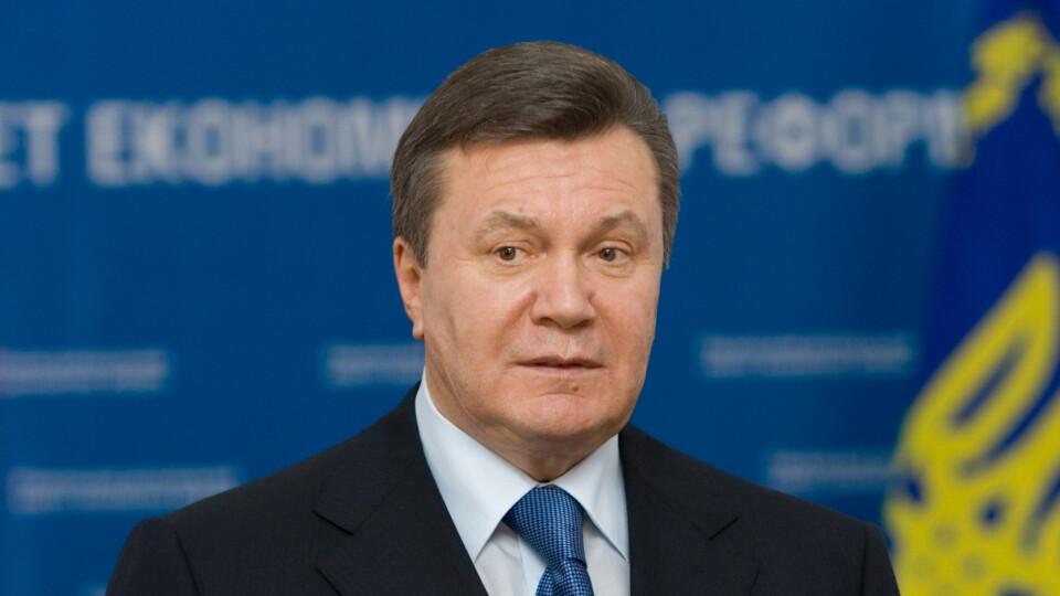 Янукович привітав Зеленського із перемогою на виборах