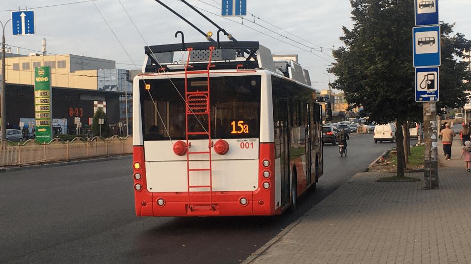 У Луцьку на маршрути виїхали два нові тролейбуси