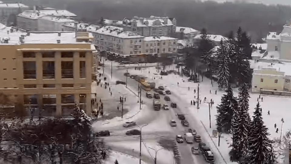 У центрі Луцька встановили відеокамери, через які спостерігатимуть за містом і прилеглими селами