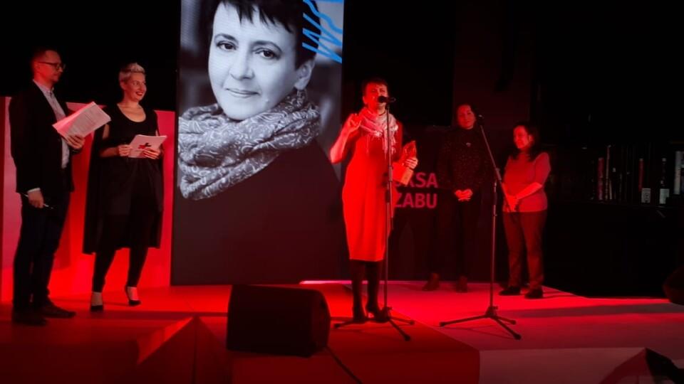 Оксану Забужко нагородили премією Women in Arts-2020 з літератури