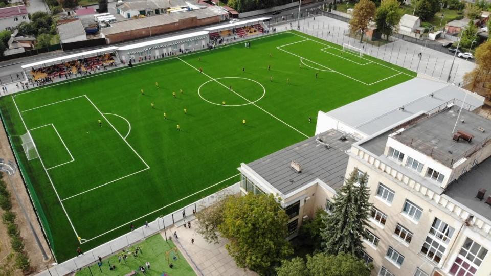 На  Волині цьогоріч побудують 5  футбольних полів. ПЕРЕЛІК