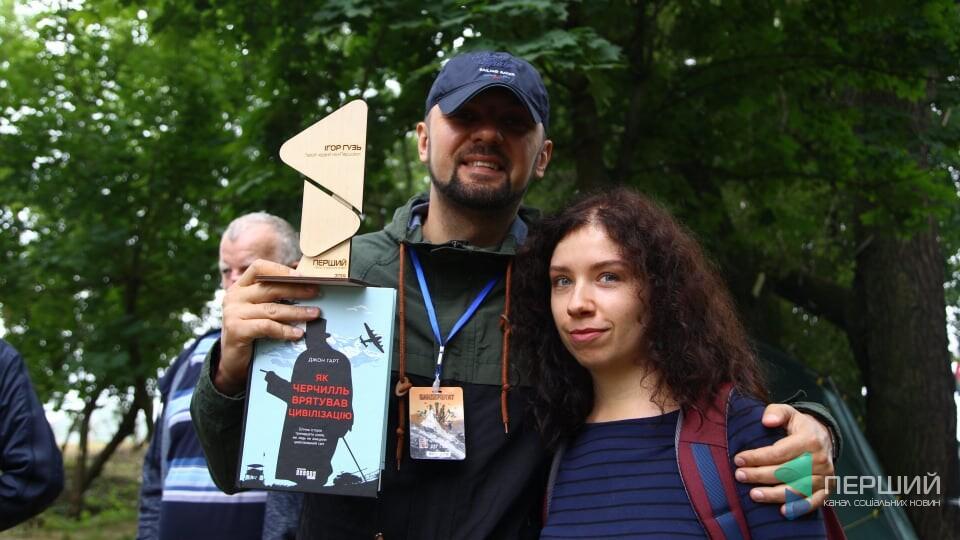«Перший» вручив нагороду герою червня Ігорю Гузю