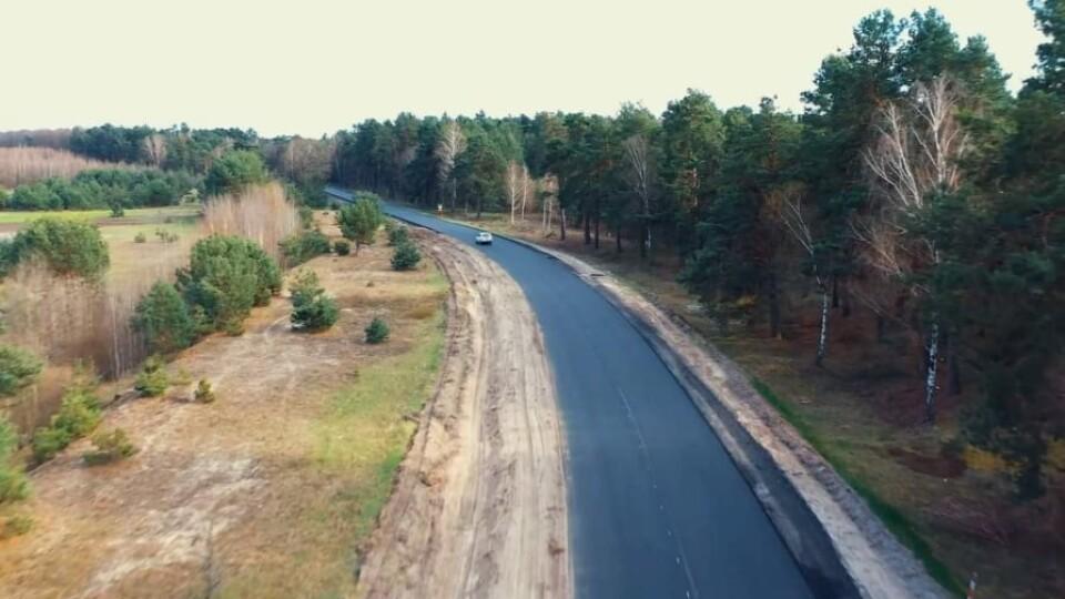 Показали відремонтовану дорогу Піща-Шацьк. Відео