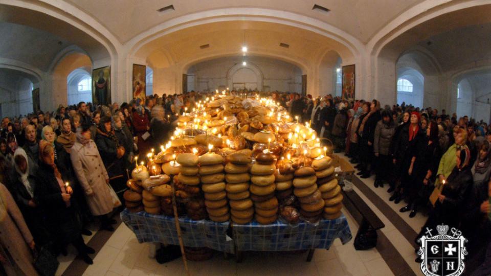 Дмитрівська поминальна субота у луцькому соборі Всіх святих землі Волинської. ФОТО