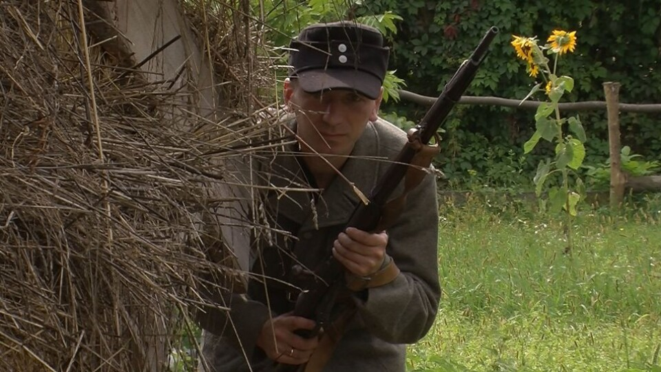 У селі біля Луцька знімають документальний фільм про УПА на Волині
