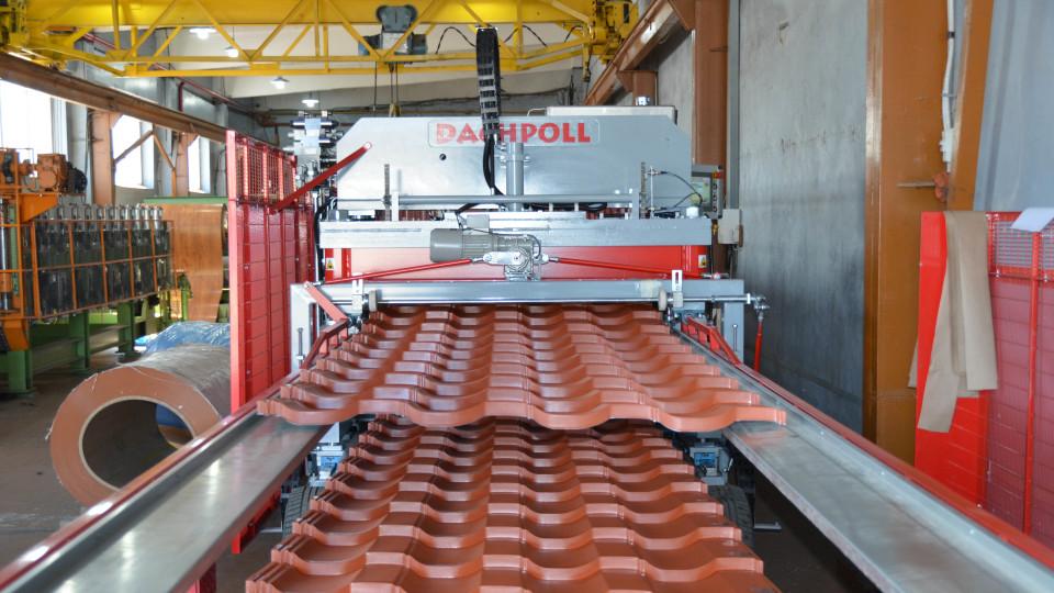 Екскурсія заводом «Дах-Профіль»: як виготовляють металочерепицю. ФОТО