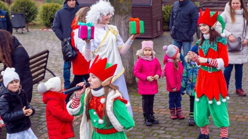 Ельфи, Святий Миколай, куліш. У Луцькому зоопарку організували свято для дітей