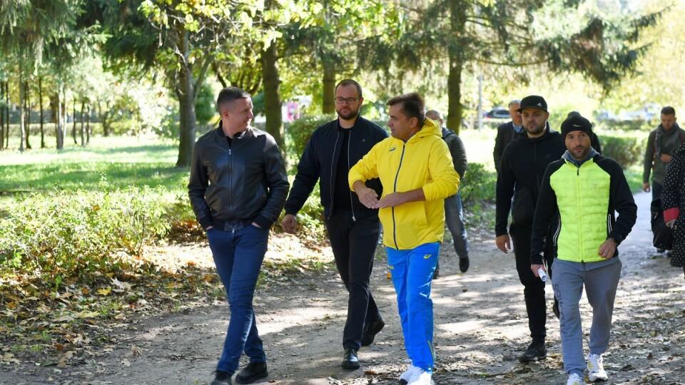 Волинські спортсмени розповіли, яким хочуть бачити парк 900-річчя Луцька. ФОТО