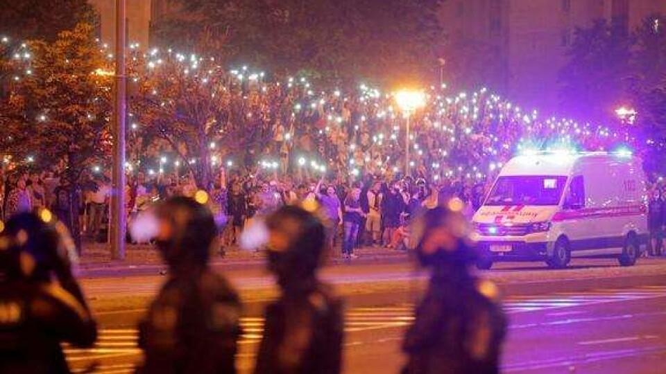 МВС Білорусі повідомило про 2000 затриманих під час протестів