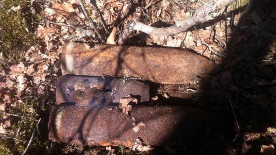 На Маневиччині  знайшли 12 снарядів, біля яких гралися діти