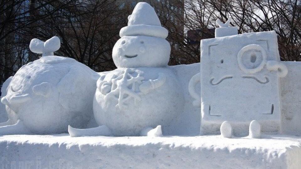 На вихідні лучан кличуть у парк на пленер снігових скульптур