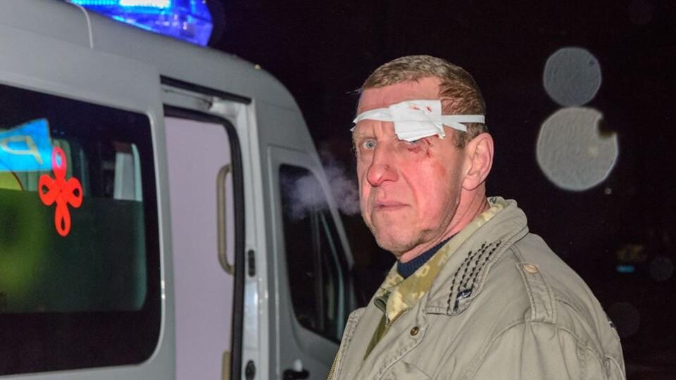 Троє людей опинилися в лікарні після погрому на ринку в Луцьку
