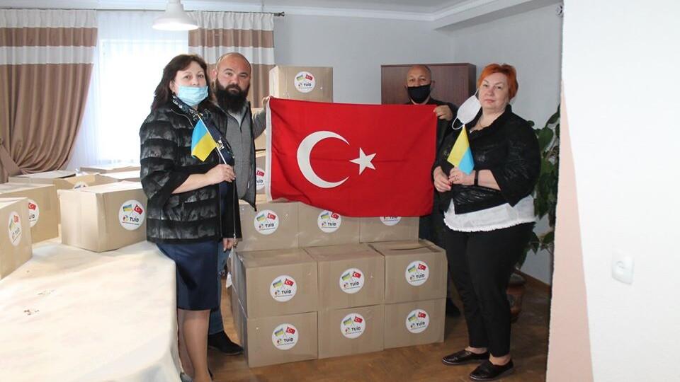 Волиняни отримають продуктові набори від бізнесменів з Туреччини