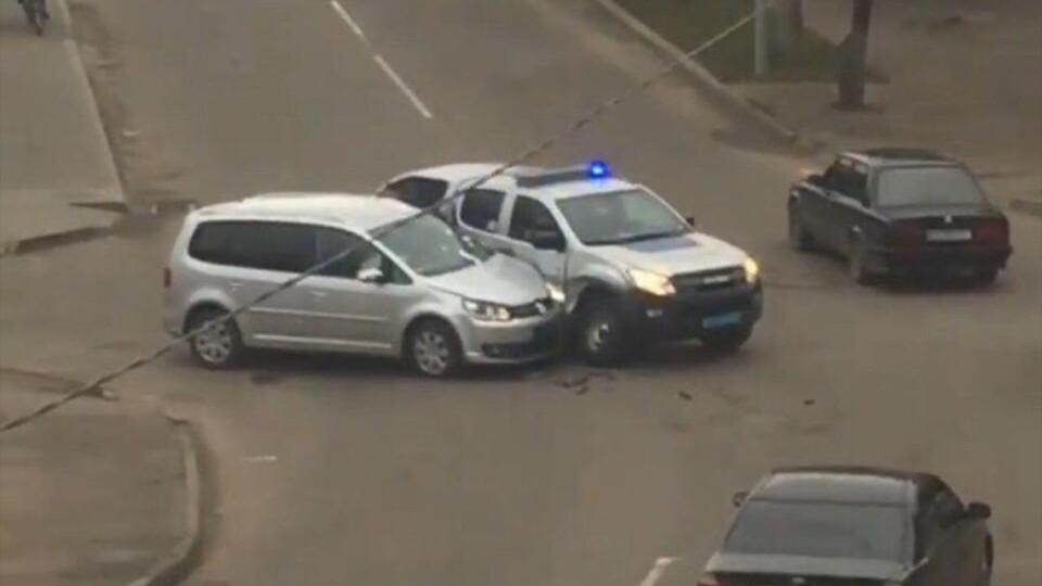 У Ковелі автомобіль поліції потрапив у ДТП