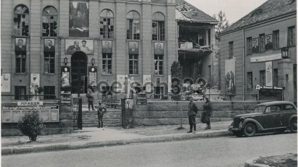 Яким був луцький Будинок офіцерів під час Другої світової війни. ЗГАДАТИ ВСЕ